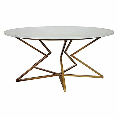 Detroit Coffee Table Table Base Color: Black