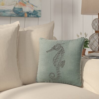Plamond Throw Pillow Color: Ocean