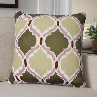 Lostant Decorative Throw Pillow Color: Green