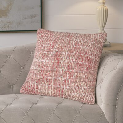 Mancilla Decorative Cotton Throw Pillow Color: Red