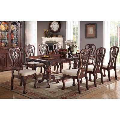 Prager 9 Piece Drop Leaf Dining Set
