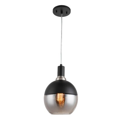 Gurney Slade 1-Light Mini Pendant Shade Color: Smokey