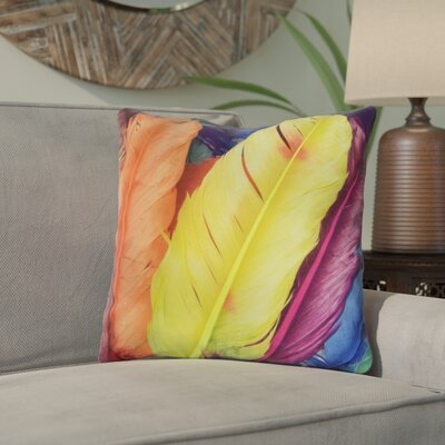 Holyfield Plume Indoor/Outdoor Throw Pillow