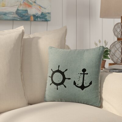 Caribe Throw Pillow Color: Ocean