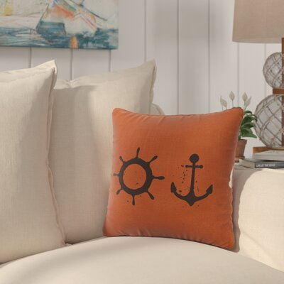 Caribe Throw Pillow Color: Paprika