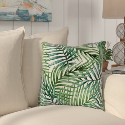 Kyleigh Palms Indoor/Outdoor Throw Pillow
