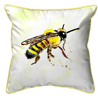 Isola Bee Indoor/Outdoor Throw Pillow Size: Small