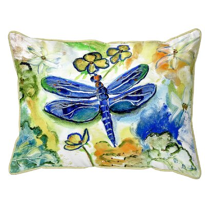 Isola Dragonflys Garden Indoor/Outdoor Lumbar Pillow Size: Extra Large