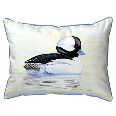 Isola Bufflehead Duck Indoor/Outdoor Lumbar Pillow Size: Large