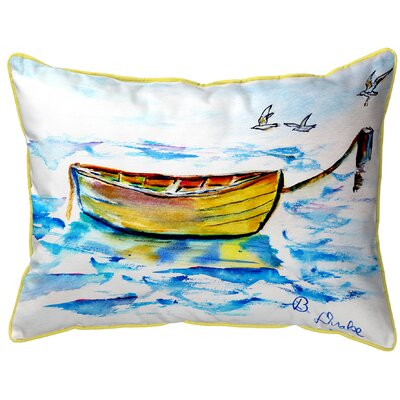 Henegar Row Boat Indoor/Outdoor Lumbar Pillow Size: Small