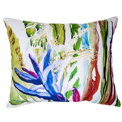 Bloomingdale Abstract Indoor/Outdoor Lumbar Pillow Size: Small