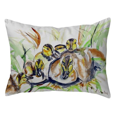 Isola Ducklings Indoor/Outdoor Lumbar Pillow