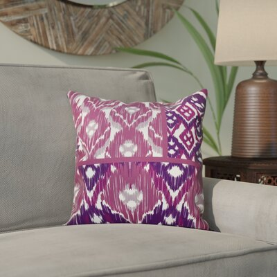 Meetinghouse Free Spirit Geometric Print Throw Pillow Size: 20 H x 20 W, Color: Purple