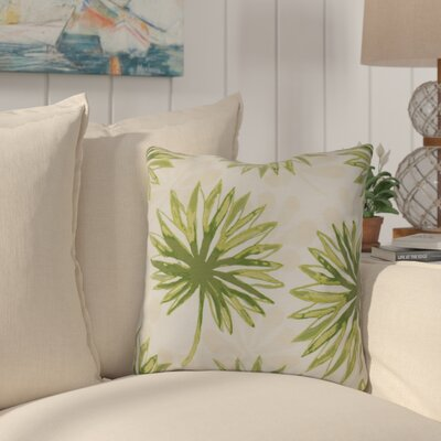 Costigan Throw Pillow Size: 16 H x 16 W x 3 D, Color: Green