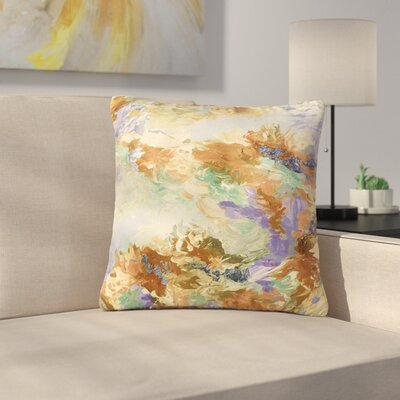 Ebi Emporium When We Were Mermaids Outdoor Throw Pillow Size: 16 H x 16 W x 5 D, Color: Lavender