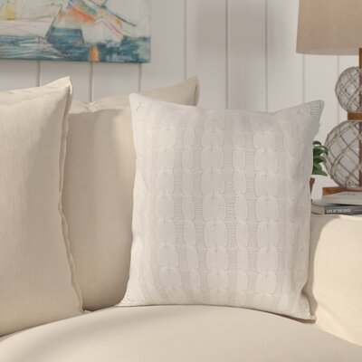 Gardiner 100% Cotton Pillow Cover Color: Light Gray