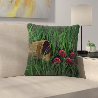 Cyndi Steen Todays Therapy Outdoor Throw Pillow Size: 18 H x 18 W x 5 D