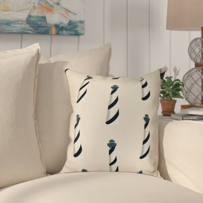 Hancock Beacon Geometric Print Throw Pillow Size: 18 H x 18 W, Color: Taupe