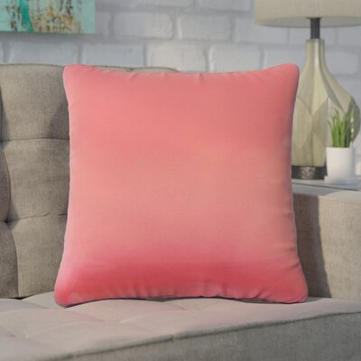 Tabit Solid Cotton Throw Pillow