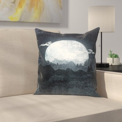 Tracie Andrews Moonrise Throw Pillow Size: 18 x 18