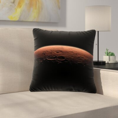Alias Martian Sunrise Nature Outdoor Throw Pillow Size: 16 H x 16 W x 5 D