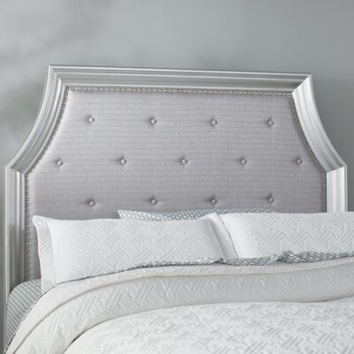 Haneul Tufting Upholstered Panel Headboard Size: King