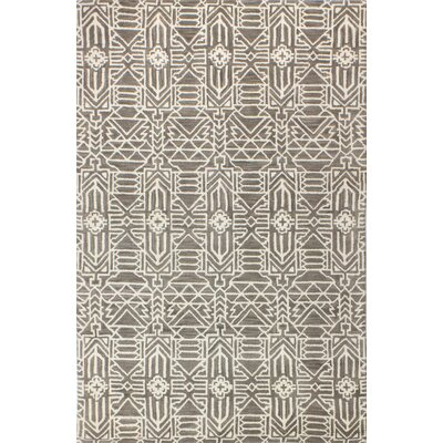 Lonergan Hand-Woven Wool Taupe Area Rug Rug Size: Rectangle 5 x 76