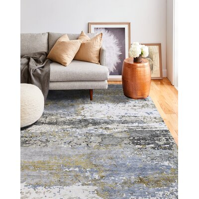 Dahl Hand-Woven Gray/Taupe Area Rug