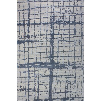 Diego Cotton Gray Area Rug Rug Size: Rectangle 36 x 56