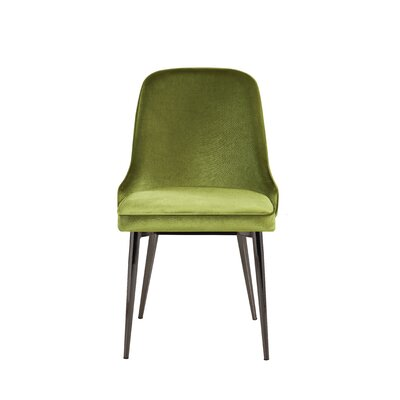 Upholstered Dining Chair Upholstery Color: Retro Green