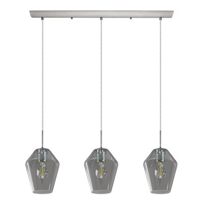 Larios 3-Light Kitchen Island Pendant