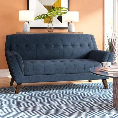 Schiller Loveseat Upholstery: Navy