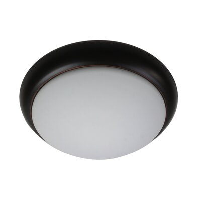 Fillingham 13 LED Transitional Flush Mount Fixture Finish: Oil-Rubbed Bronze