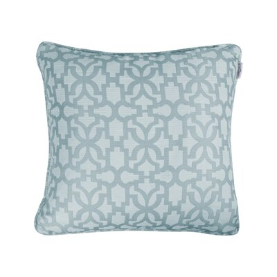 Emrich Jacquard Throw Pillow Color: Seafoam