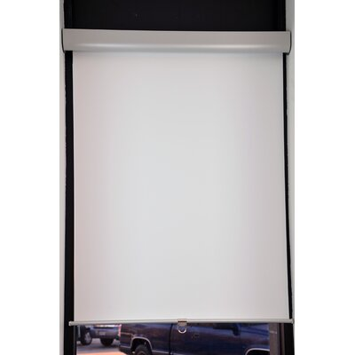 Room Darkening Roller Shade Blind Size: 30 W x 72 L, Color: White
