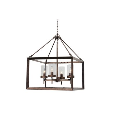 Vickrey 4-Light Foyer Pendant Finish: Antique Copper
