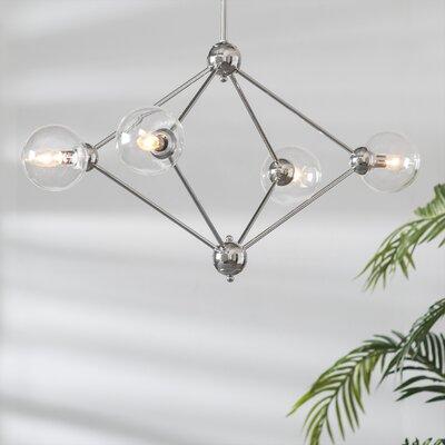 Valetta 4-Light Sputnik Chandelier