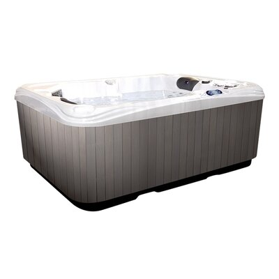 Hurricane 2-Person 58-Jet Plug and Play Spa with LED Light v058L