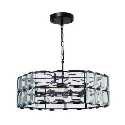 Gwendoline 9-Light LED Crystal Chandelier