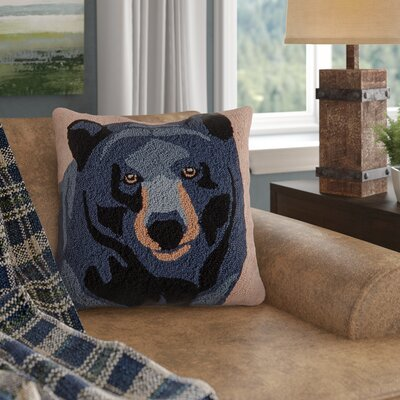 Auclair In the Woods Bear Throw Pillow