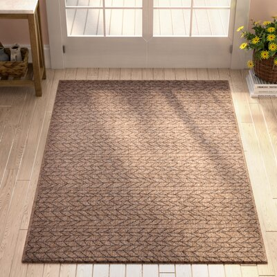 Milivoje Tan Area Rug Rug Size: Rectangle 67 x 96
