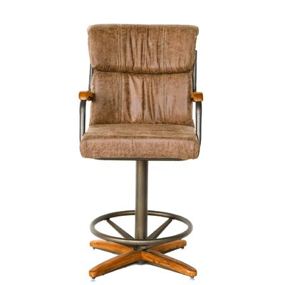 Cuellar 19 Swivel Bar Stool