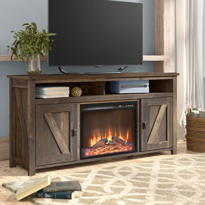 Cleveland 60 TV Stand with Fireplace Finish: Heritage Pine