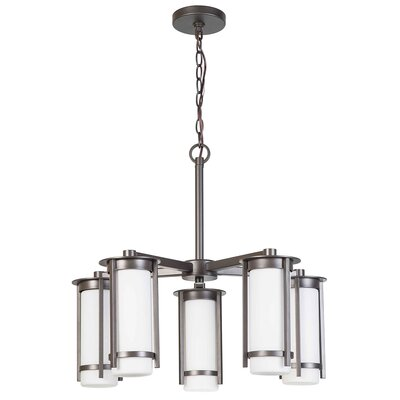 Leiser 5-Light Candle-Style Chandelier