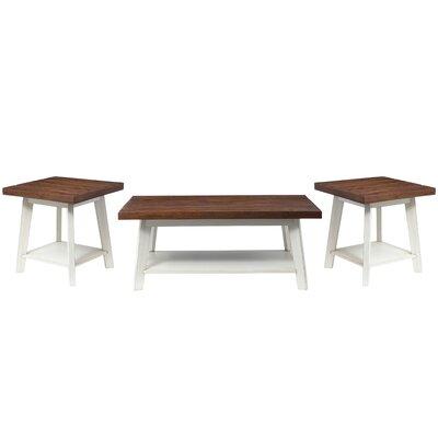Funke 3 Piece Coffee Table Set