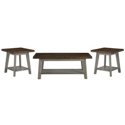 Addis 3 Piece Coffee Table Set