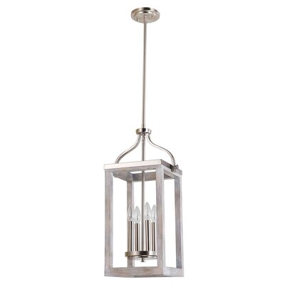 Detrick 4-Light Lantern Pendant