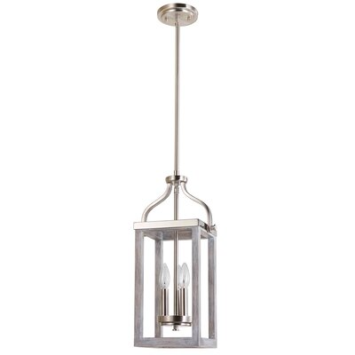 Detrick 3-Light Lantern Pendant