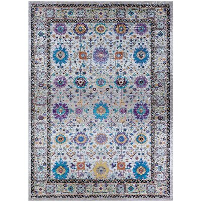 Nocera Mocha Area Rug Rug Size: Rectangle 36 x 56