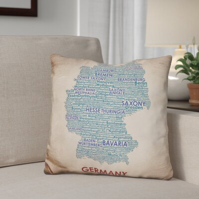 Genova Germany Throw Pillow